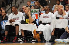 Alonzo Mourning Reaction On The Bench  GifrificHeat Bench