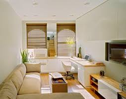 Small Picture Attractive Small Space Living Room Design with Small Home Office