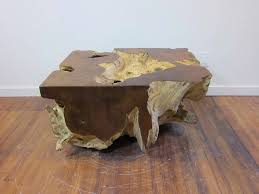 unique wood furniture. Unique Natural Wood Coffee Table Furniture O