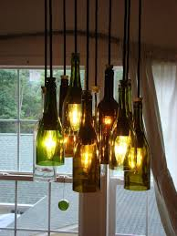 brilliant glass bottle chandelier 25 best ideas about bottle chandelier on wine bottle