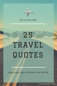 Wander Quotes Extraordinary 48 Travel Quotes Inspiring You To Wander The World Travels With Tava
