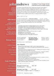 Project Manager Resume Examples Project Manager Resume Project
