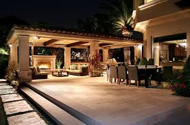 Mediterranean outdoor lighting Spanish Style View In Gallery Mary Lyon Decorating With Mediterranean Influence 30 Inspiring Pictures