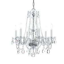 chrome crystal chandelier trad crystal 6 light crystal chandelier in polished chrome crystal chandeliers chandeliers small