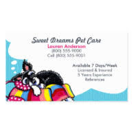 Pet Sitter Business Cards Pet Sitting Business Kids And Money Today Parent Entrepreneur Tips