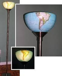 diy lighting design. light the world upcycle a globe hanging or standing lamp diy lighting design l