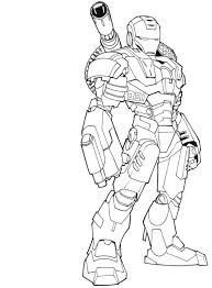 Anthony stark, at the beginning of his superhero career, had for main occupation to fight against the communists in the context of the cold. Super Hero Iron Man Coloring Page Free Printable Coloring Pages For Kids