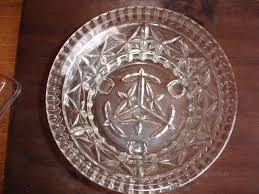 sowerby art deco vintage pressed glass 3 footed glass bowl in dublin thumbnail 1