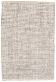dash and albert marled grey woven cotton rug