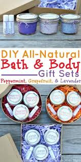 3 easy diy all natural bath and gift sets