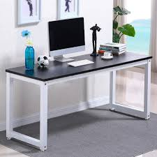 home office computer workstation. Perfect Home Ktaxon Wood Computer Desk PC Laptop Study Table Workstation Home Office  FurnitureBlack For