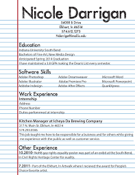 Creative Resume Templates Free Download For Microsoft Word Free