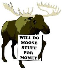 Finest ten well-known quotes about moose photograph English ... via Relatably.com