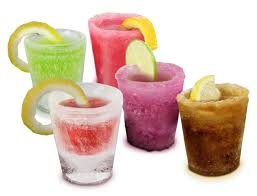ice molds shot glasses