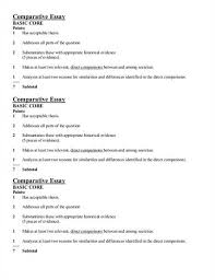 comparison essay outline example co comparison essay outline example