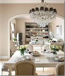 john saladino dining rooms. beautiful colours for this dining room. and a chandelier. john saladino rooms
