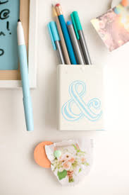 DIY Locker Decorations: Dry Erase Board + Pencil Cup | flax ...