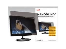 nanoblind privacy screen filter crystal clear matte for 26