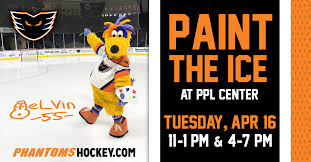 Phantoms Announce First Ever Paint The Ice Event At Ppl