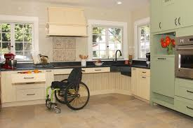 English Country Accessible Kitchen Transitional Kitchen Home Design Ideas
