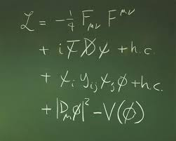 the standard model lagrangian equation