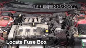probe fuse box not lossing wiring diagram • blown fuse check 1993 1997 ford probe 1994 ford probe 2 0l 4 cyl rh carcarekiosk com car fuse box ford probe fuse box diagram