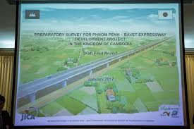 expressway development project study phnom penh bavet the moon page he also confirmed that he will further discuss the funding mechanism the ministry of economy and finance and the possibility to move the project