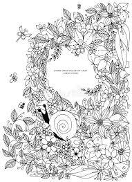 seas border frame ocean pattern vector vine ilration zentangle coloring book