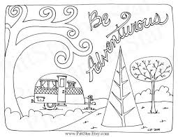 Small Picture 29 best Color Camping images on Pinterest Coloring books