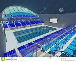 Indoor olympic swimming pool Athletic Modern Olympic Swimming Pool Lanes Pool Painting Is Like Indoor Olympic Swimming Pool Arena Blue Seats Modern Olympic Swimming Pool Lanes Pool Painting Is Like Indoor