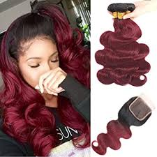 Amazon.com : Feelgrace <b>Ombre</b> Brazilian Body Wave Human Hair 3 ...