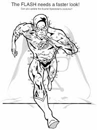 Justice League Coloring Pages For Kids With Lego Flash Coloring