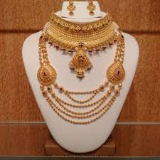 Hyderabad Gold Designs Gold Light Weight Hyderabad Bridal Jewellery Indian