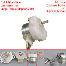 dc 5v 12v 2 phase 4 wire 15mm mini full metal gear stepper motor dc 12v 20mm 4 phase 5 wire mini full metal gear stepper motor reducer