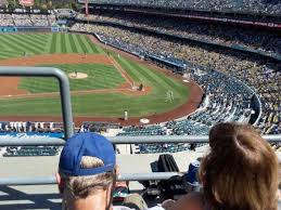 Dodger Stadium Section 11rs Home Of Los Angeles Dodgers