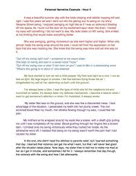 personal narrative essay examples high school personal narrative essay examples high school
