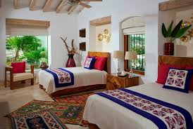COLORFUL MODERN MEXICAN eclectic-bedroom