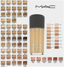 Mac Cosmetics Shade Chart Makeupview Co