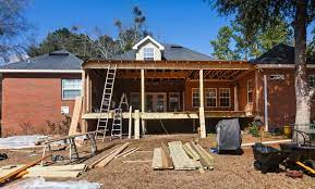 to build a roof over my existing deck