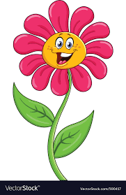 picture of cartoon flowers. Perfect Cartoon Cartoon Flower Vector Image Throughout Picture Of Flowers T