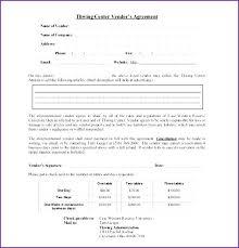 free application templates event vendor application template agreement templates free fresh