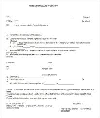 Free Eviction Notices Templates Printable Eviction Notice Template Download Them Or Print