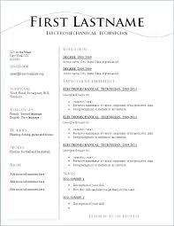 Printable Sample Resume Templates Resume Template Pdf Download Resume Format Resume Templates Free For