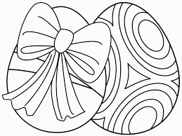 Easter Drawing Easy Free Hd For Easter Coloring Pages Printable