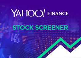 Yahoo Stock Quote Classy Stock Screener Yahoo Finance