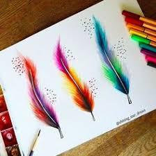 Pin by Alie Hoogenboezem-de Vries on Aquarel | <b>Watercolor feather</b> ...