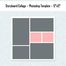 Picture Collage Templates Free Download 12 Photo Collage Template