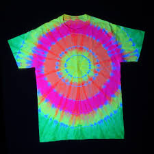 Black Light Tie Dye Tulip Electric Neons Dye Kit