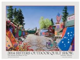 Sisters Outdoor Quilt Show General Information & 2014 Poster by Dan Rickards Adamdwight.com