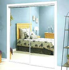 image mirrored closet. Sliding Mirrored Closet Doors Mirror Door Framed O Image L